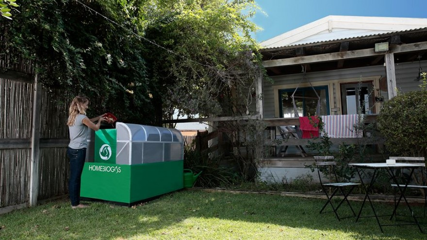 The HomeBiogas system is a energy solution for the average family.