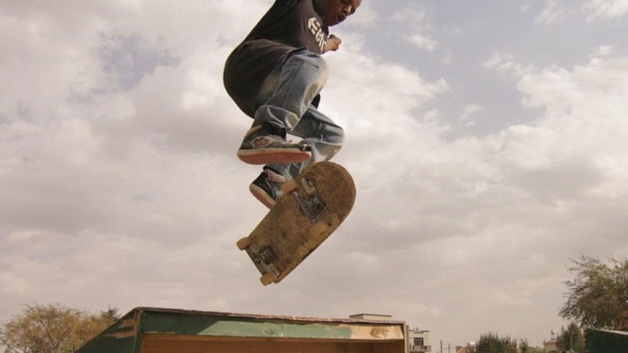 Ethiopia Skate is an initiative that uses skateboarding to help youth make connections in Addis Ababa. Image: Ethiopia Skate