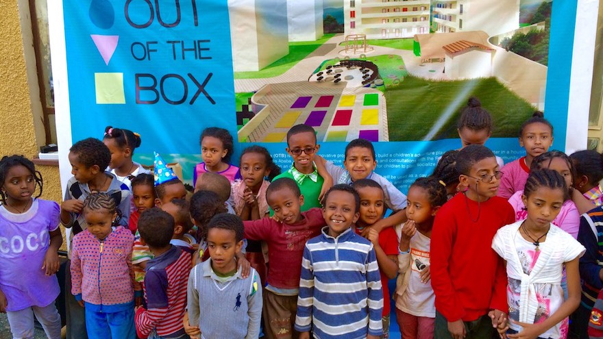 Out of The Box is an innovative project that aims to build the first adventure playground in the inner city of Addis Ababa, Ethiopia