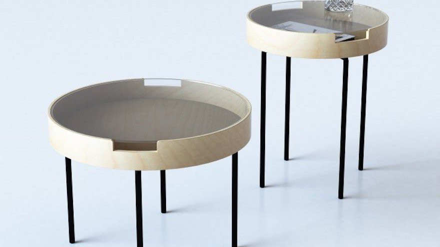Perkins Side and coffee tables by Estudio Diario for Diario. Golden A' Design Award Winner for Furniture, Decorative Items and Homeware Design Category in 2014
