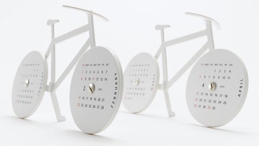 "Calendar 2015 ""Bike"" by Katsumi Tamura from A' Design Award & Competition"