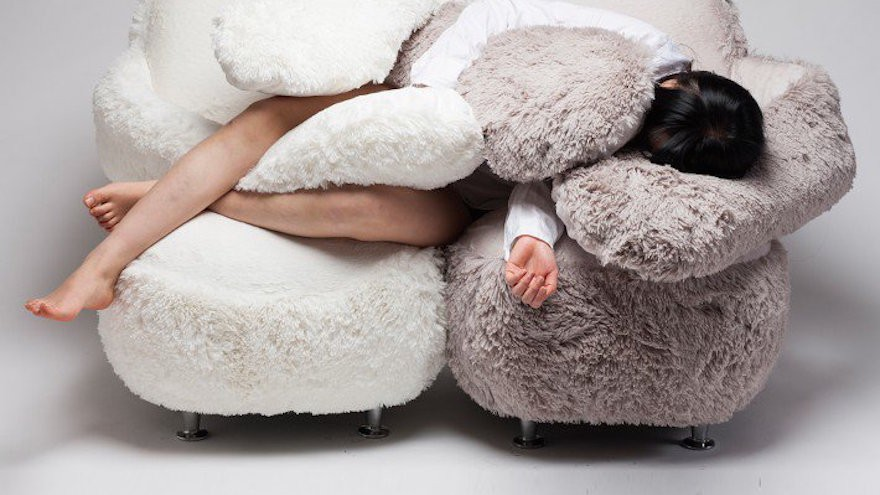 Free hug sofa by LEE eun kyoung from A' Design Award & Competition