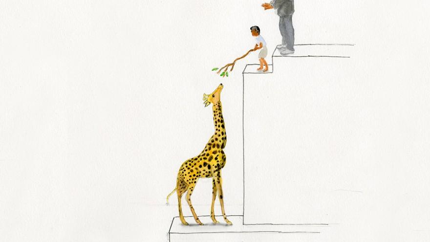 A children's book written for adults.