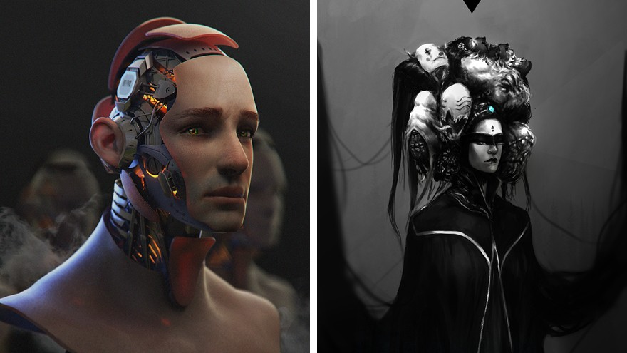 Techno-Phobia by Ahmed Magdy Maihope and Boy, its all in your Head by Jasmine Magdy