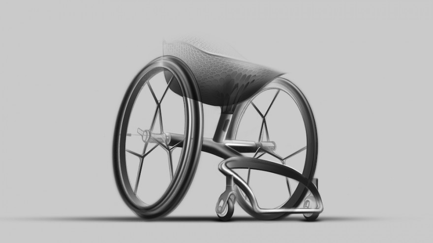 GO wheelchair by Layer