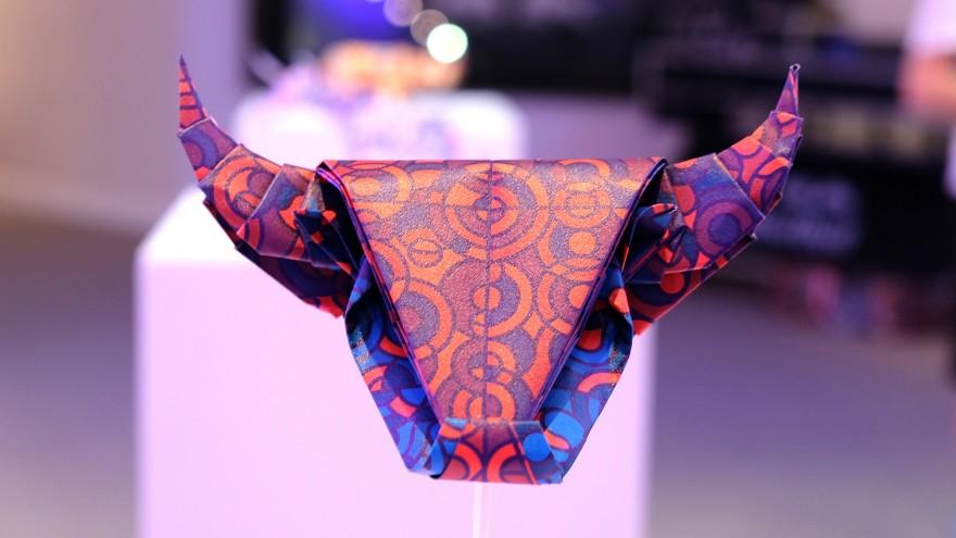 Bull Head origami
