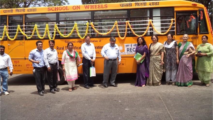 School on Wheels in Mumbai