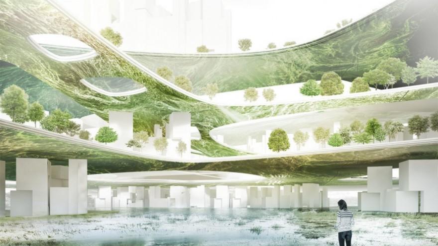 Liberland algae-powered city