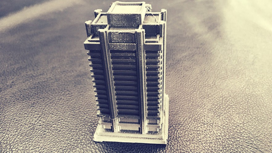 A 3D model printed by 101Hero