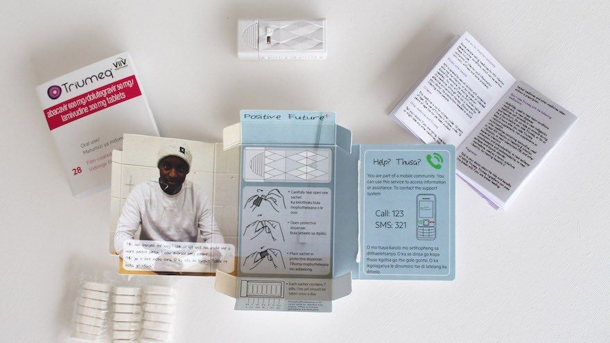A new system for the packaging of AIDS-related virus medication in Sub-Saharan Africa thinks more holistically about the user's needs
