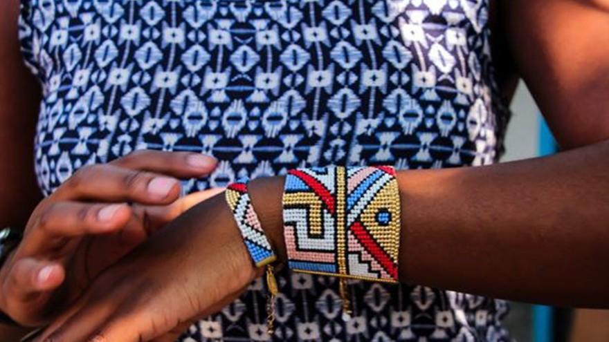 Amahlé Ndebele inspired jewellery