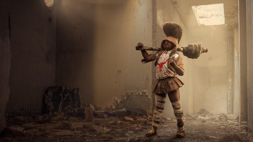 Osborne Macharia's little Kenyan battle squad