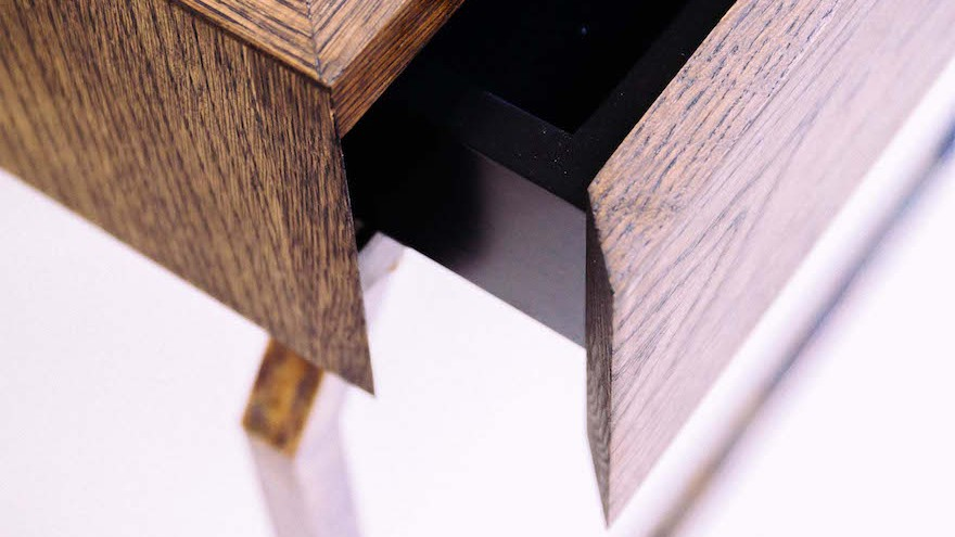 Mvelo desk by Siyanda Mbele. Photo credit: Michelle Reynolds