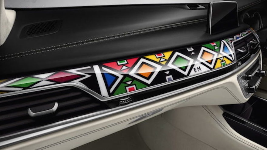 World renowned Ndebele artist and educator Esther Mahlangu's releases her second one-of-a-kind Ndebele-inspired design for BMW