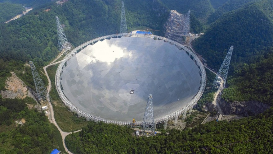China's massive radio telescope
