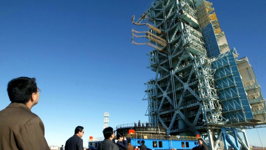 China quantum satellite launch site