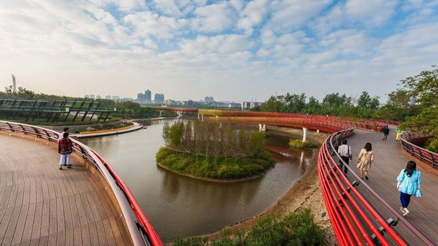 Yanweizhou walkways