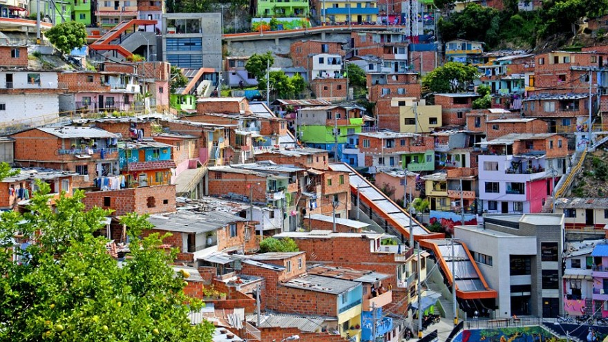 Neigbourhoods of Comuna 13