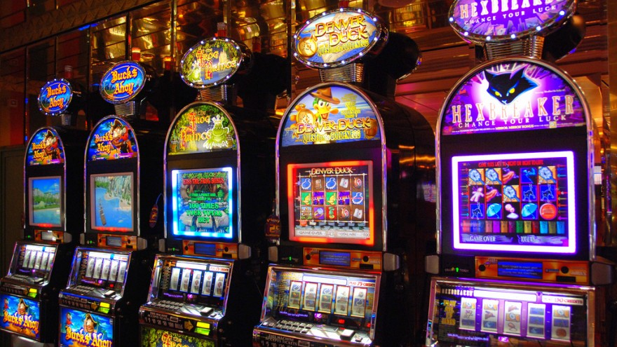 A selection of slot machines