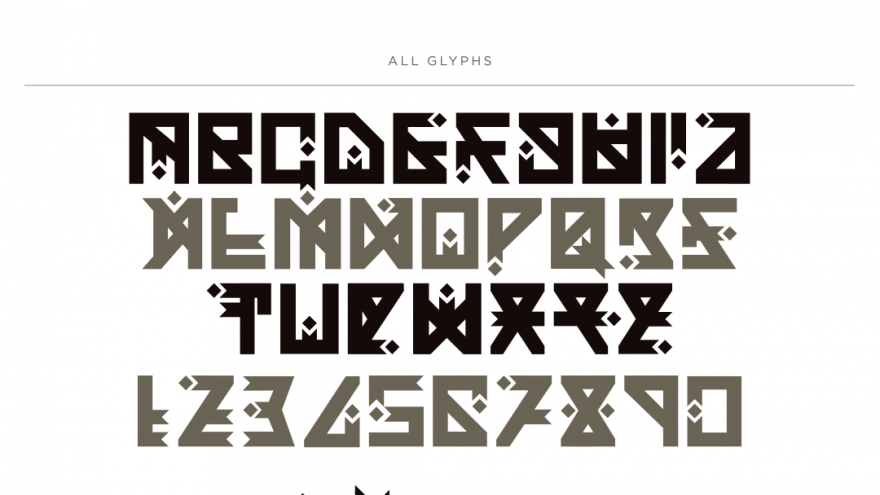 Yuwote Charvet The Typeface That Infuses African Symbols With