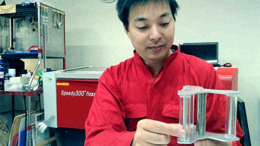 Miniature turbine model