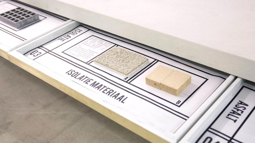 Studio Nienke Hoogvliet makes products from old toilet paper