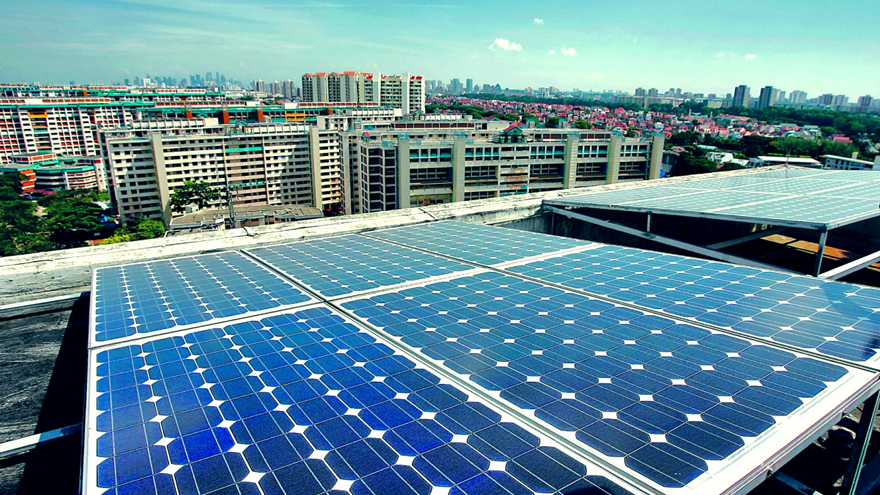 Singapore's solar lease project