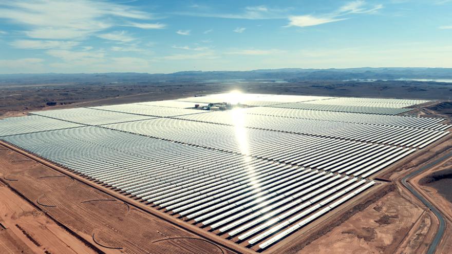 Morocco Noor power plant