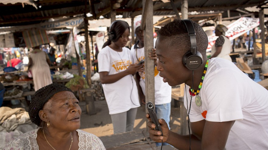 We talk to Makhulu Productions about their latest virtual reality film, which tells the story of how a homeless child found his voice on a Kinshasa radio show
