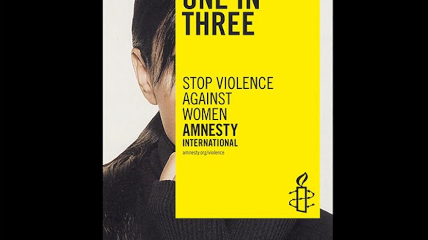 Amnesty International. Work by Marina Willer