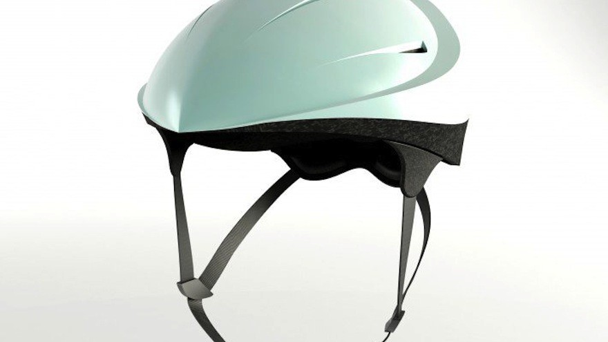 Safety's First Biking Helmet by K. Hisarlı, H. Yılmazer, L. Muslular: an interactive cycling helmet designed for safety for both bikers and bicycles