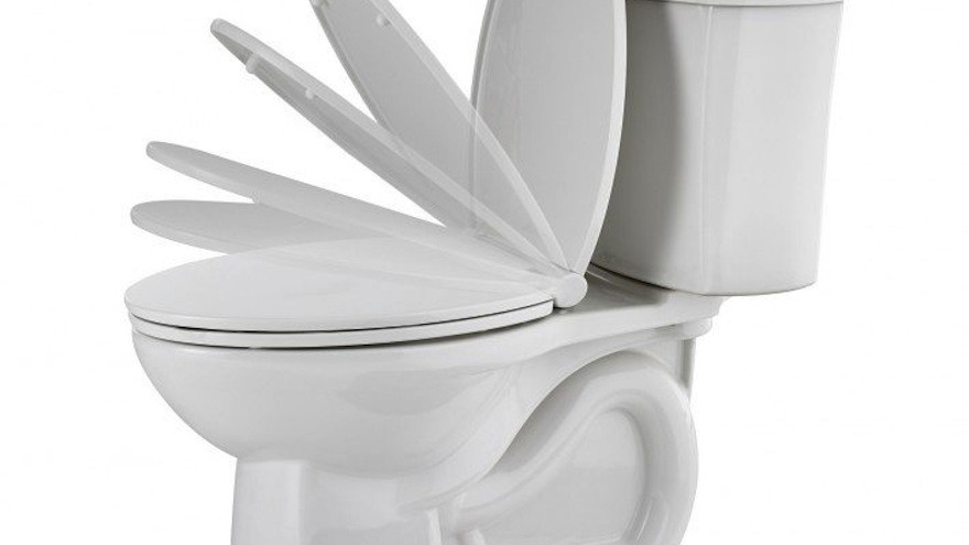 ActiClean Self-Cleaning Toilet by American Standard: a self-cleaning toilet that cleans itself at the press of a button