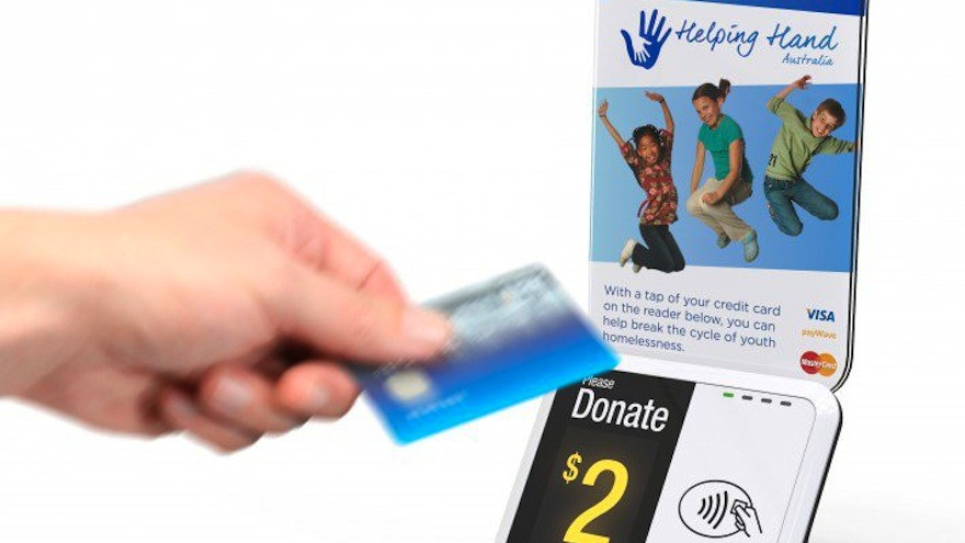 Donation Point Tap Cashless Donation Acceptor by Jan Mason