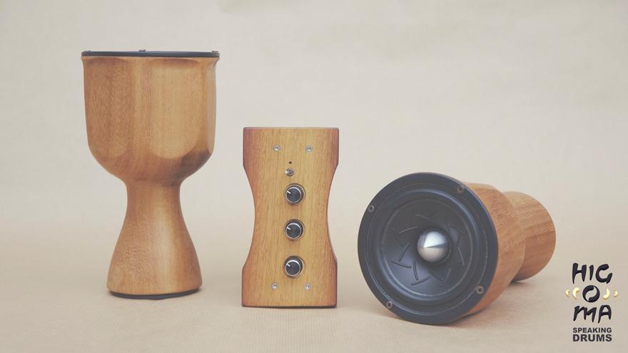 HiGOMA Speaker Drum
