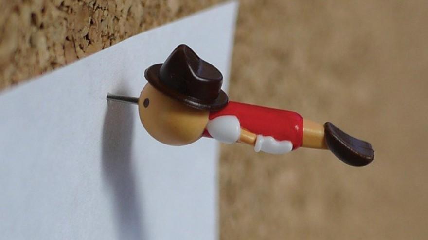 Real Boy Push Pins / Thumb Tacks by Duncan Shotton, Art Materials, Stationery Supplies and Gift Items Design Award Winner