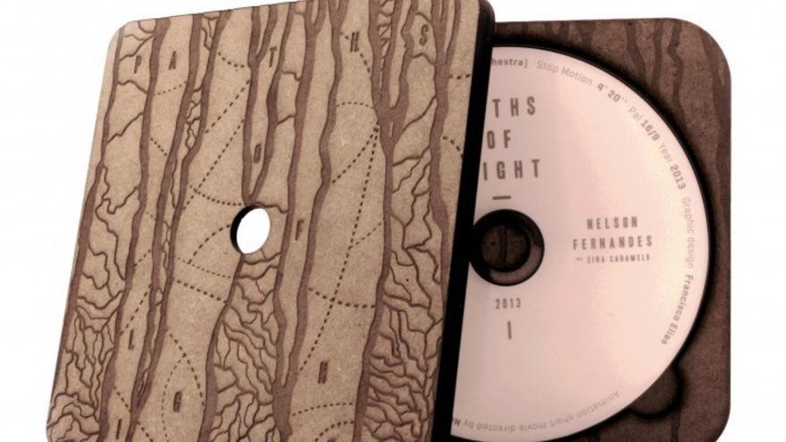 Paths of Light Dvd Box by Francisco Elias & Nelson Fernandes, Packaging Design Award Winner Inspiration