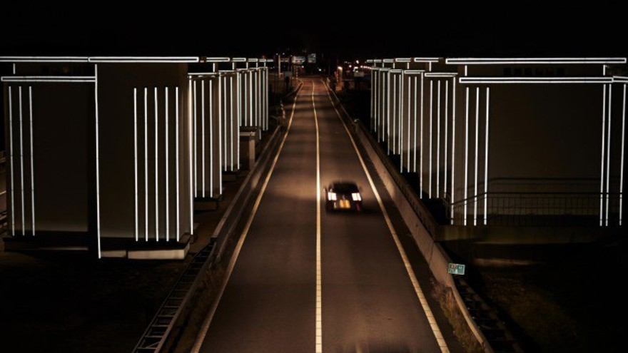 Gates of Light by Daan Roosegaarde, Lighting Products and Lighting Projects Design Award Winner
