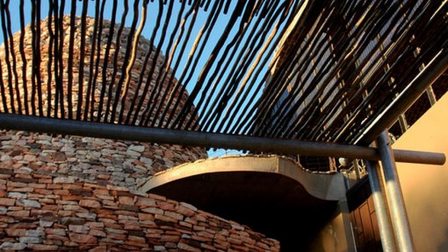 Peter Rich's Mapungubwe Interpretation Centre