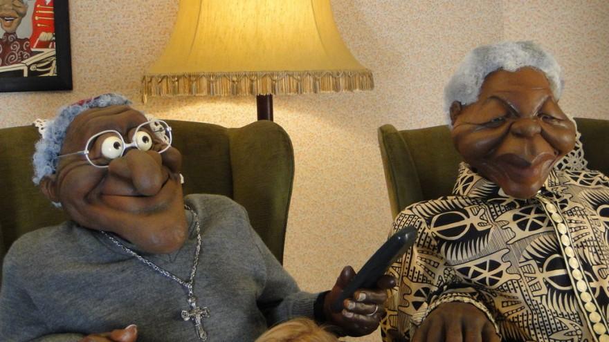 Desmond Tutu and Nelson Mandela on ZA News