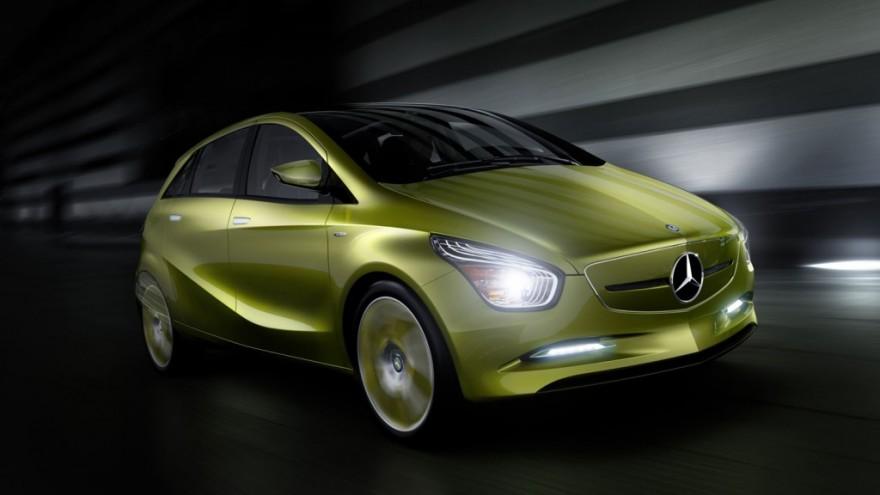 Mercedes-Benz Concept BlueZERO.