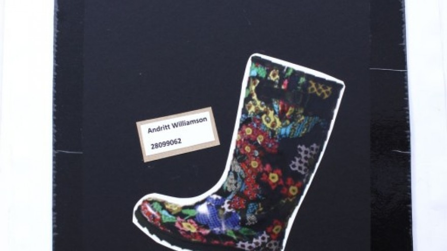 Billboard Boots by Andritt Williams.