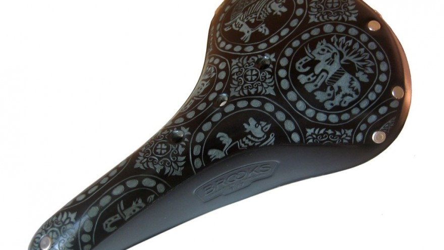 Byzantine saddle design by Kara Ginther.