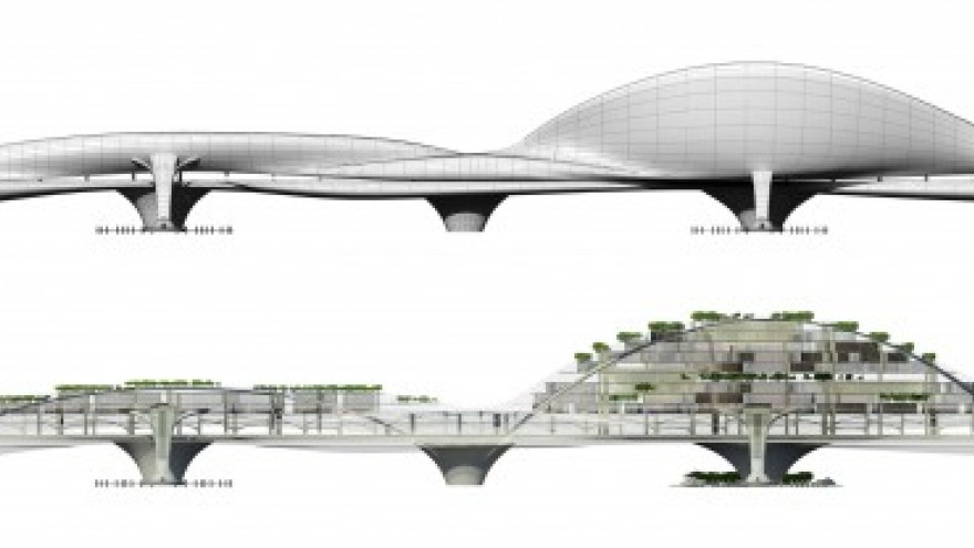 Paik Nam June Media Bridge by Planning Korea.