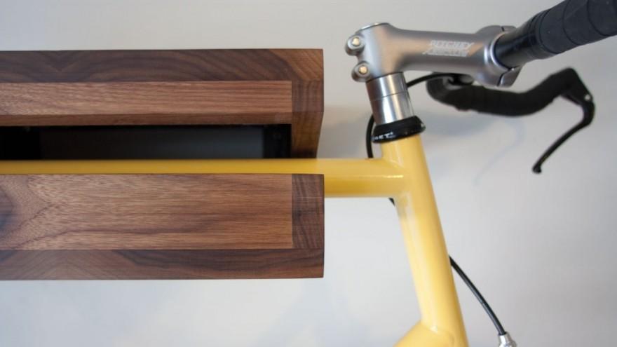 Bike Shelf by Chris Brigham.