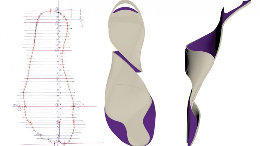 Gala shoe concept by Marco Goffi.