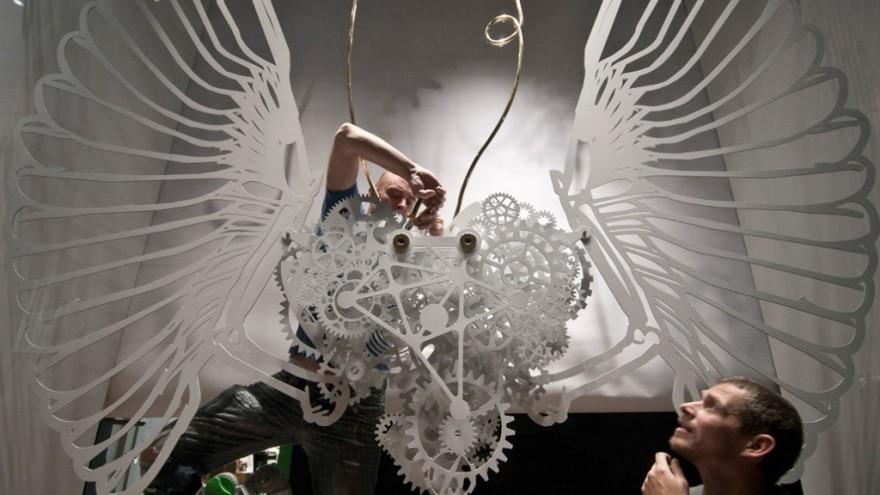 Clockwork Snow by Tjep.
