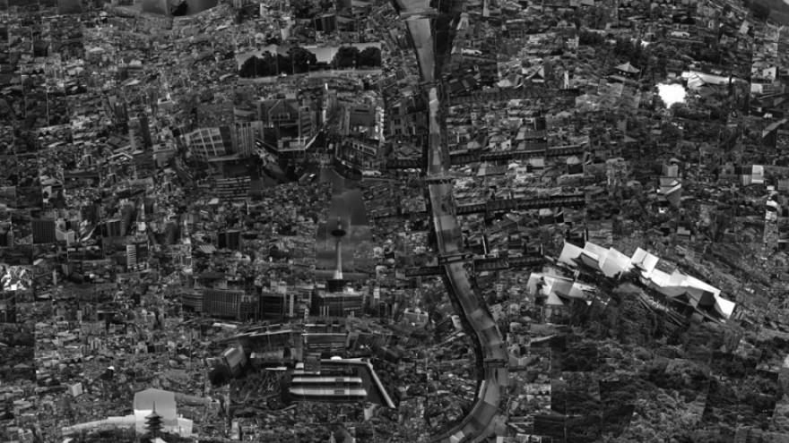 The Diorama Map Series by Sohei Nishino: Kyoto.