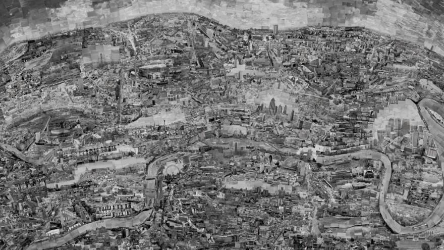 The Diorama Map Series by Sohei Nishino: London.