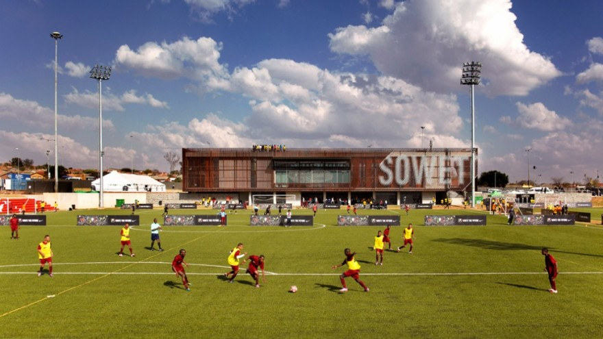 Football Training Centre. Photo: Julian Abrams.