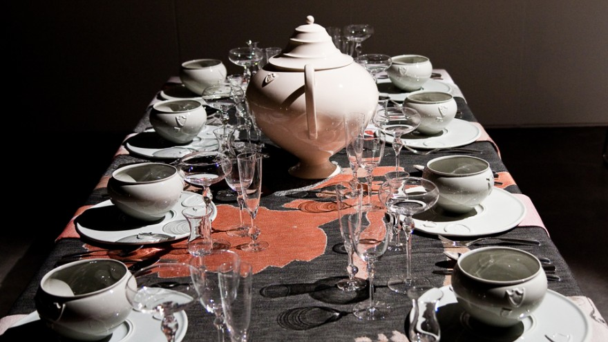 Kiki van Eijk for Total Table Design. Photo: Jelle Mollema.